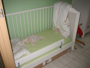 Ikea Lit Bebe Barriere Amovible