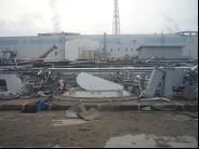 Outdoor seawater facility of Unit 4 b