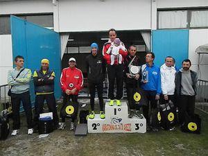 Memorial G. Annetti - i primi 9 classificati della gara lunga