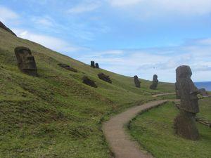 2012091238 Rapa Nui Carrière du volcan Rano Raraku