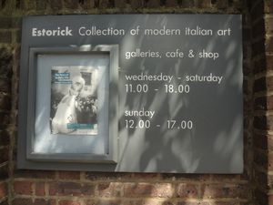 All'Estorick Collection of Modern Italian Art, la mostra