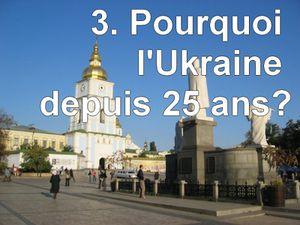 Mon parcours Pourquoi l'Ukraine