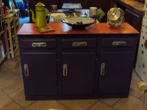 r novation d 39 un meuble de cuisine ann es 50 le blog de latelierenfolie. Black Bedroom Furniture Sets. Home Design Ideas