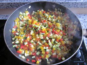 Brunoise de légumes recette