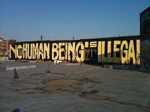 no human being is ilegal