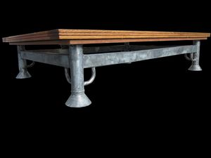 TABLE BASSE PARQUETEE VERSAILLES