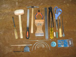 Les outils et le temps de travail du tapissier ameubl 39 in - Outils de tapissier ...