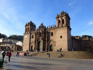 Cusco cathedrale