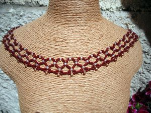 COLLIER NATAHOVACI ROUGE