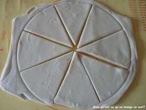 13 triangle de 15 x 10cm