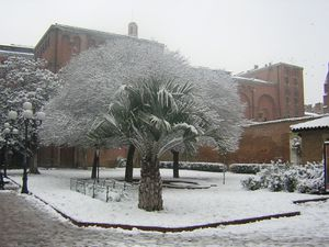 France toulouse augustins neige