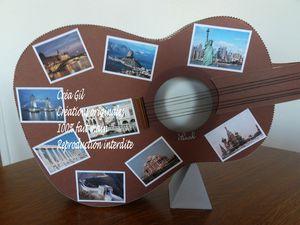 Urne guitare voyageuse 2 Créa Gil