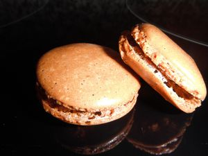 macaron chocolat
