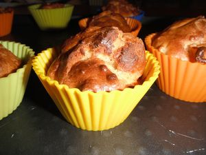 muffin pomme spéculoos