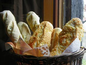 Baguettes fromages