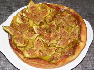 Clafoutis figues