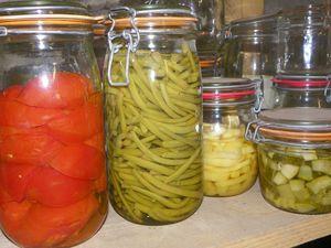 Conserves légumes