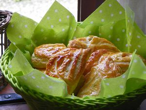 Panier chaussons pommes