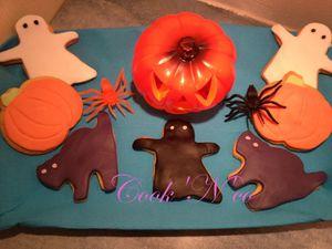 Biscuits d'Halloween à la cannelle