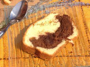 Marbré au Nutella