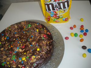 Gateau au m&m's facile