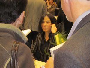 Tsuji Hitonari dédicace