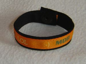 MDR lol Bracelet orange
