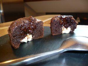 Fondant Chocolat Coeur Blanc