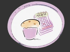 MM#38 + calendrier cercle rose