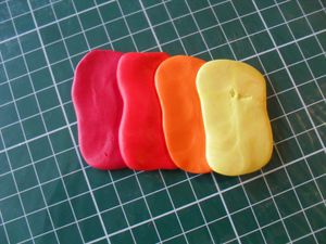 fimo rouge indien