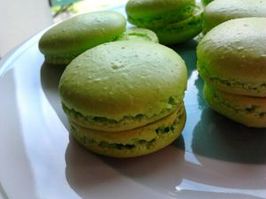 macarons mousse
