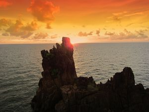 Coucher de soleil sur le rocher Chai Chet 01 modifié-2