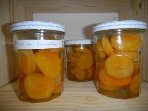 Les abricots au monbazillac