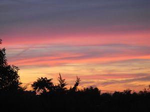 Lever de soleil à St Julien le 27 sept (6)