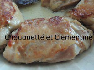 poulet de chouquette et clementine