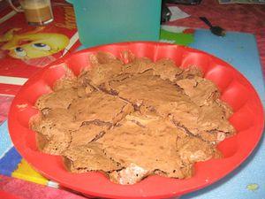 fondant au chocolat de chouquette et clementine