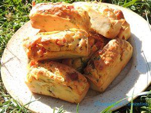 muffins emmental jambon et lardons parmesan de chouquette et clem