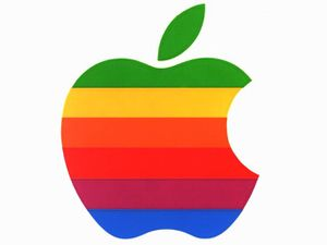 apple logo 640x480