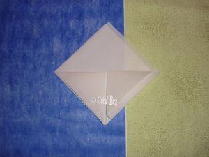 Tuto Pliage serviette Lys (4)