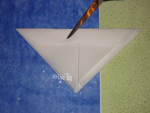 Tuto Pliage serviette Lys (7)