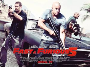 Fast Five banner