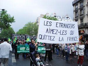 aimez les étrangers ou quitter la France