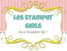 Bouton Stampin'Girls