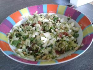 salade courgettes sara