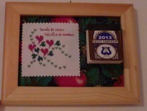 Pour Nicole Cadeau Nouvel An 2013 grille Frimousse monique