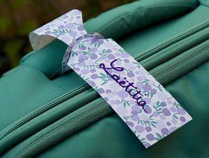 etiquettes pour valise