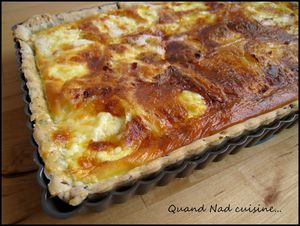 quiche au brillat-savarin