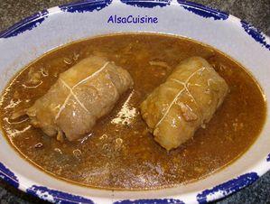 recettes plats  Alouettes sans tête.
