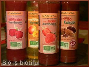 coulis fruits Danival