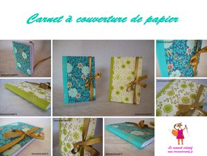 Kit carnet couverture papier